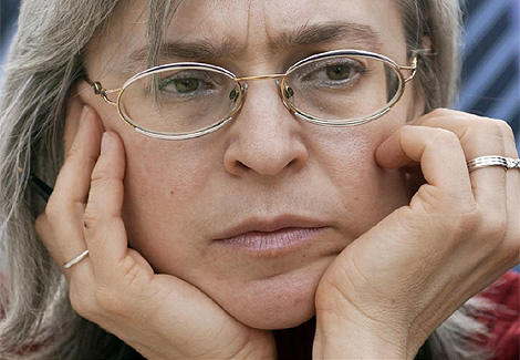 La periodista rusa asesinada Anna Polikovskaya. (Foto: AFP)