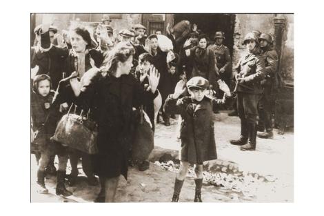 La imagen del Gueto de Varsovia de 1943. | US Holocaust Memorial