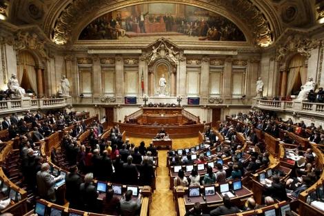 Votación en el parlamento portugués del cuarto plan de austeridad del Gobierno. | Efe