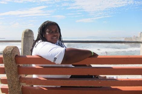 Ndumi Funda, directora de la ONG Luleki Sizwe. | Foto J.B
