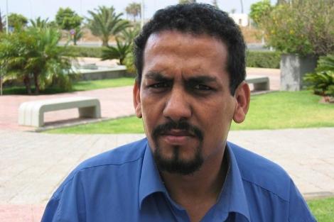 Uno de los activistas saharauis presos, Ali Salem Tamek.| Efe