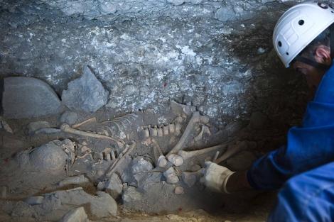 Algunos de los restos hallados en Atapuerca. | Ical