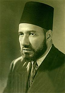 El fundador Hasan Al Bana.
