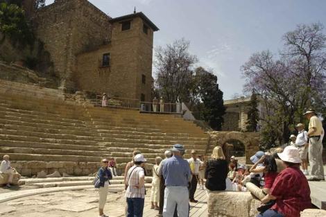 El Teatro Romano recupera su espacio escénico tras 20 años sin espectáculos. | ELMUNDO.es
