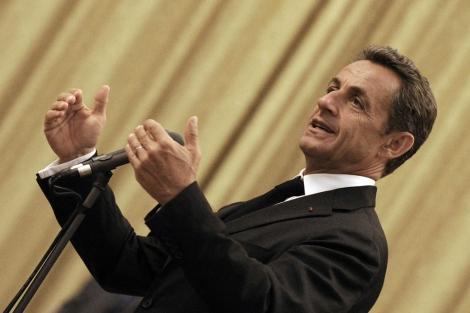El presidente francés, Nicolas Sarkozy. | Efe