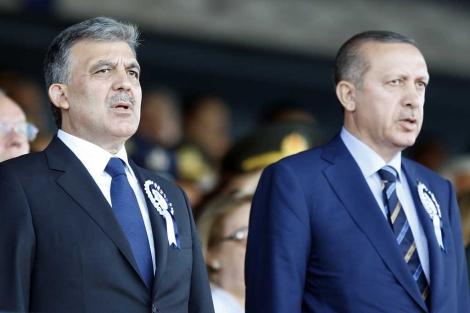 El presidente turco, Abdullah Gul, y el primer ministro, Recep Tayyip Erdogan. | Reuters
