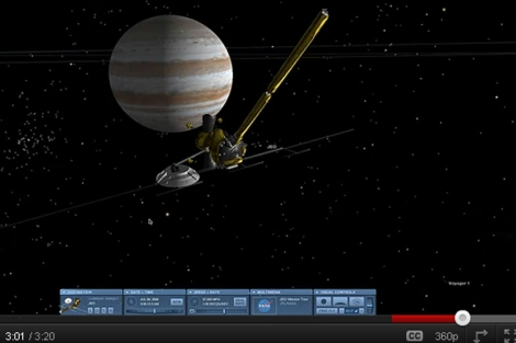 La aplicación 'Eyes on the Solar System' es gratuita. | NASA.