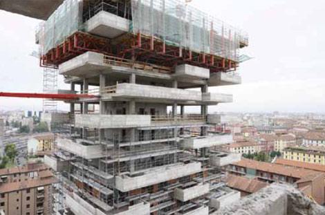 Ya se está construyendo el edificio que albergará el bosque vertical.| Iwan Baan