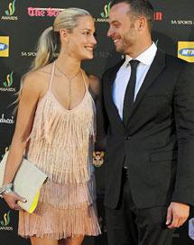 Imagen de Pistorius y su novia, el pasado noviembre.