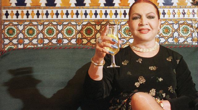 La actriz tras recibir un premio a su trayectoria profesional en 1999. | E. M. VEA MÁS FOTOS