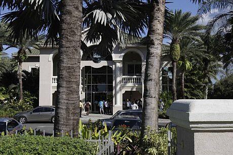 Sede del Antigua Bank, subsidiario del Stanford Bank, en Saint John's. | Efe