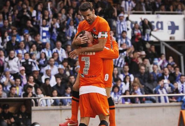 Королевское общество победила на Riazor и будет играть в Лиге чемпионов в сотрудничестве с Севилья, Валенсия, который избил.