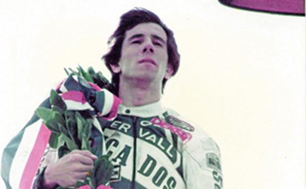 Aspar, en su victoria de 1984
