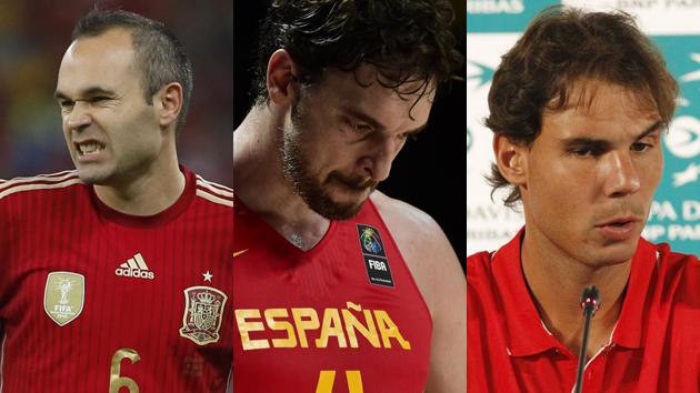 2014: Batacazo del deporte español