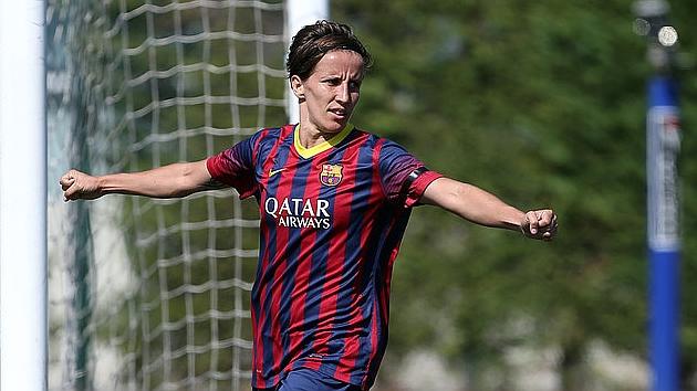 Sonia Bermúdez, autora de cuatro goles frente al Sevilla / Miguel Ruiz (FCB)