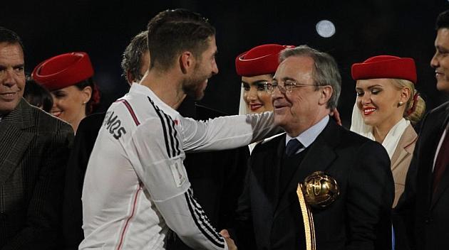 A Sergio Ramos y Florentino les separan 2,5 millones