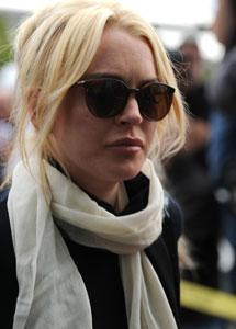 Lindsay Lohan. I Reuters