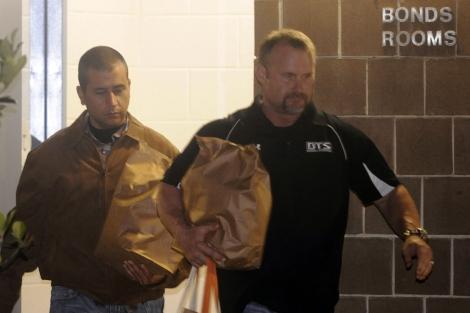 Zimmerman, tras salir de prisión bajo fianza. | Reuters