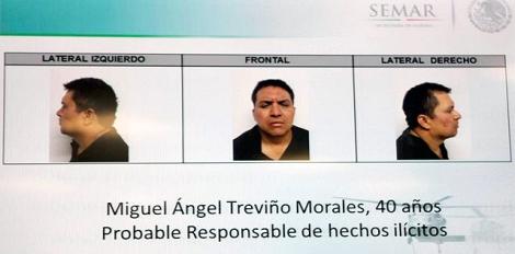 Fotografías del SEMAR del capo del narcotráfico Miguel Ángel Treviño. | Efe