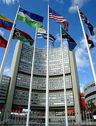 Sede de la ONU en Viena