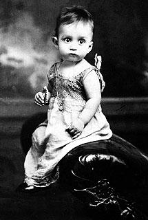 G.G. Márquez, de niño. | Efe