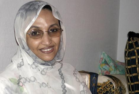 La activista saharaui Aminetou Haidar. | Foto: Efe