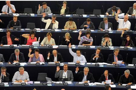 Parlamentarios europeos votan el acuerdo Swift | Ap Photo