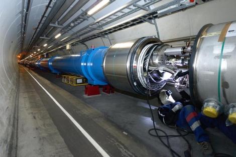 Interconexión del módulo último del LHC. | CERN