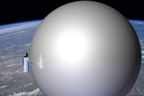 Representación del globo espacial. | NASA