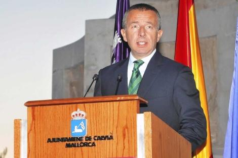 Carlos Delgado durante su alocución. | Alberto Vera