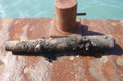 Imagen del objeto hallado en Ibiza.