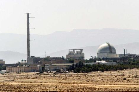 La central nuclear israelí de Dimona, en el desierto de Neguev. | Afp