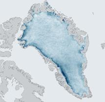 Mapa del efecto Albedo, | NSIDC