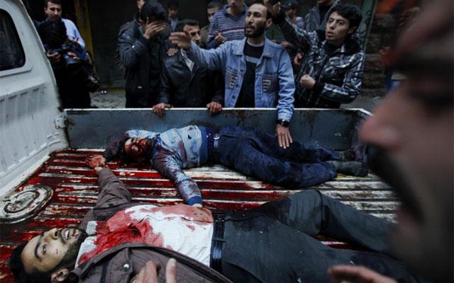 Dos muertos por mortero en Alepo. / FOTO: Reuters