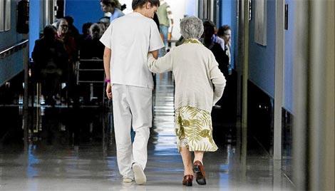 Imagen de una anciana