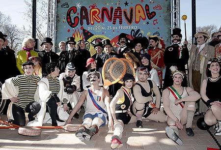 Presentación de la programación cultural del Carnaval de la capital. (Foto: EFE).