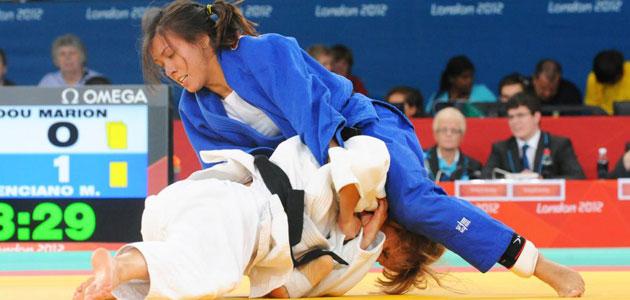 Mónica Merenciano durante un combate de los Juegos de Londres. FOTO: CPE