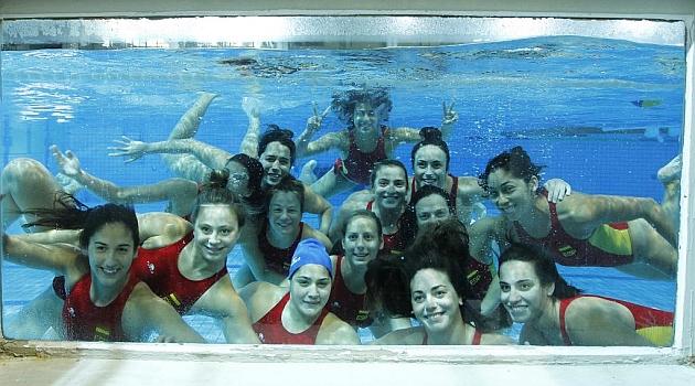 Las vigentes campeonas españolas, en el grupo A