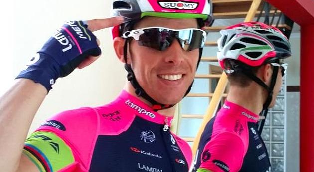 Rui Costa durante el Tour de Omán. FOTO: @RuiCostaCyclist