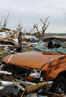 Imagen de la destrucción. I Efe