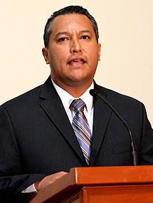 Imagen del ministro.