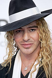 John Galliano. | Afp