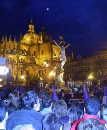 Plenilunio y Semana Santa en Segovia. | Pelayo2