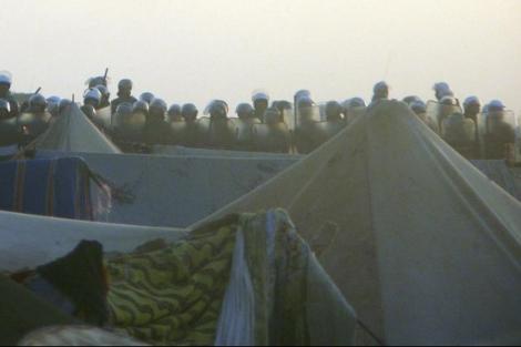 La ciudad de El Aaiun después del desmantelamiento del Campamento de Gdeim Izik. | EL MUNDO