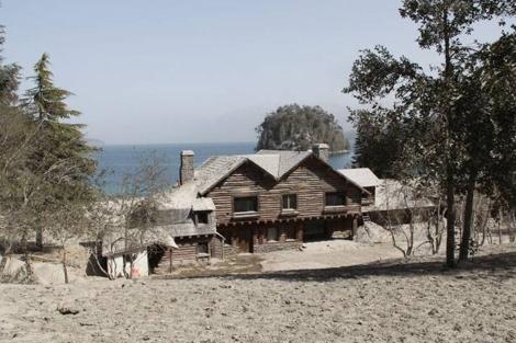Imagen de la casa de la Patagonia donde supuestamente huyó Adolf Hitler.   Cedoc / Perfil.com