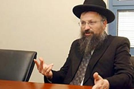 El rabino Shmuel Eliyahu. | Haaretz.com