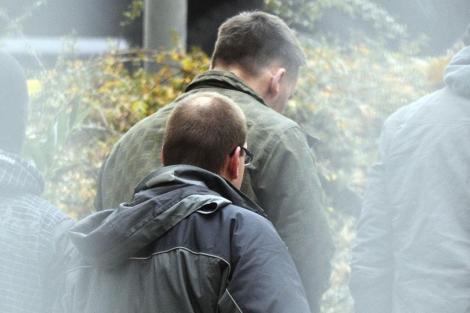 El ciudadano alemán de 36 años Ralf Wohlleben es detenido por la policía. | Efe