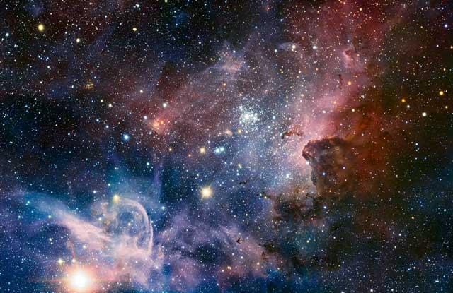 Imagen panorámica de la nebulosa Carina. | ESO
