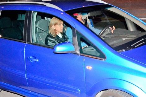 La Infanta Cristina y su marido llegando a Marivent el pasado 24 de febrero. | A. Vera