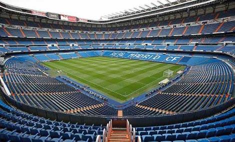 Imagen del Santiago Bernabéu